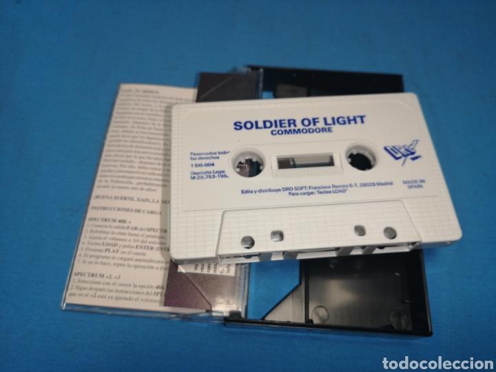 Videojuegos y Consolas: Juego Commodore 64, soldier of Light - Foto 6 - 167805166