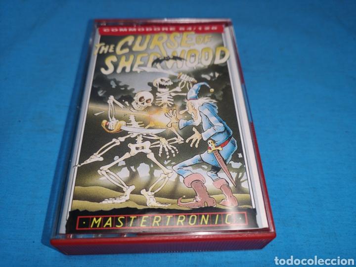 Videojuegos y Consolas: Juego Commodore 64, curse of sherwood - Foto 2 - 167806368