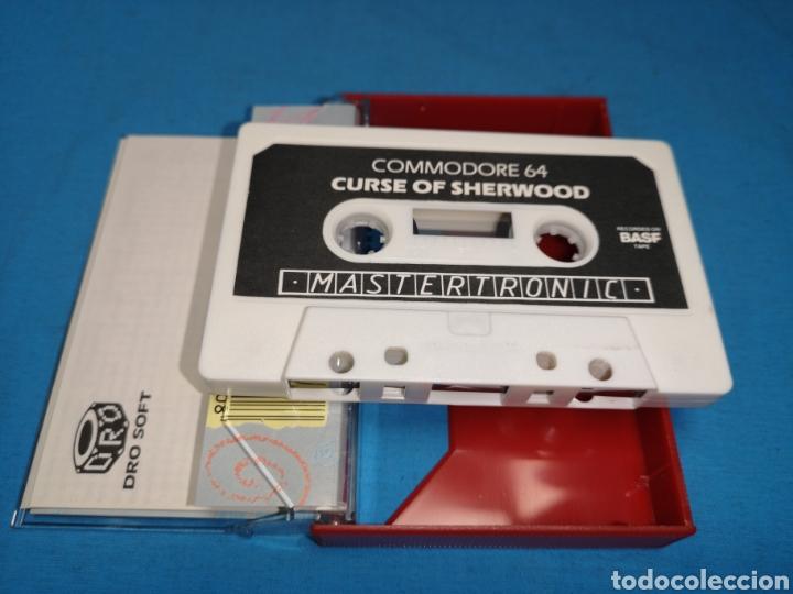 Videojuegos y Consolas: Juego Commodore 64, curse of sherwood - Foto 5 - 167806368
