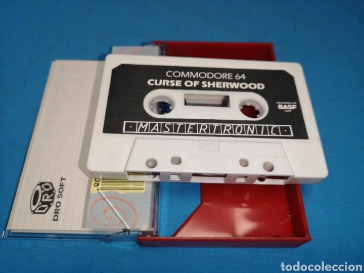Videojuegos y Consolas: Juego Commodore 64, curse of sherwood - Foto 6 - 167806368