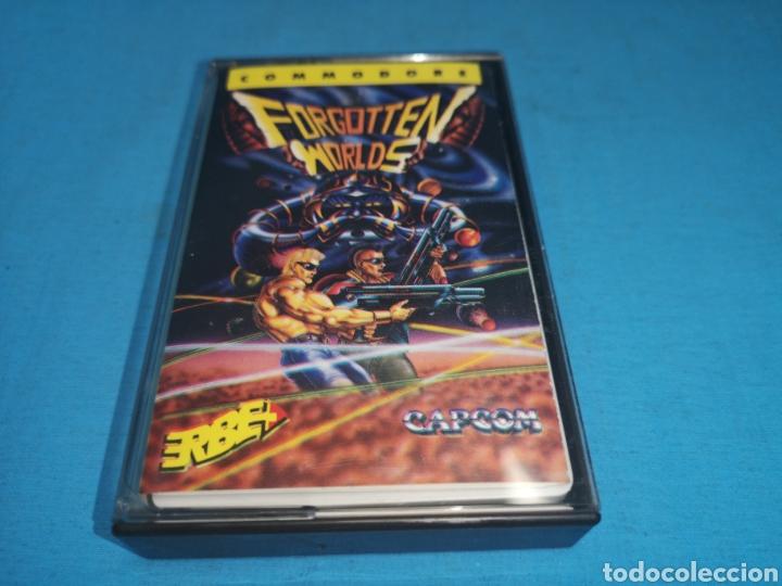 Videojuegos y Consolas: Juego Commodore 64, forgotten worlds by capcom - Foto 2 - 167808264