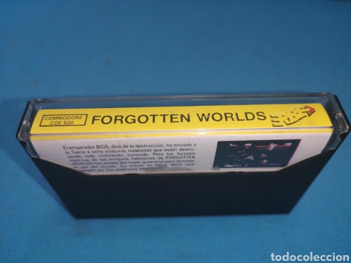 Videojuegos y Consolas: Juego Commodore 64, forgotten worlds by capcom - Foto 4 - 167808264