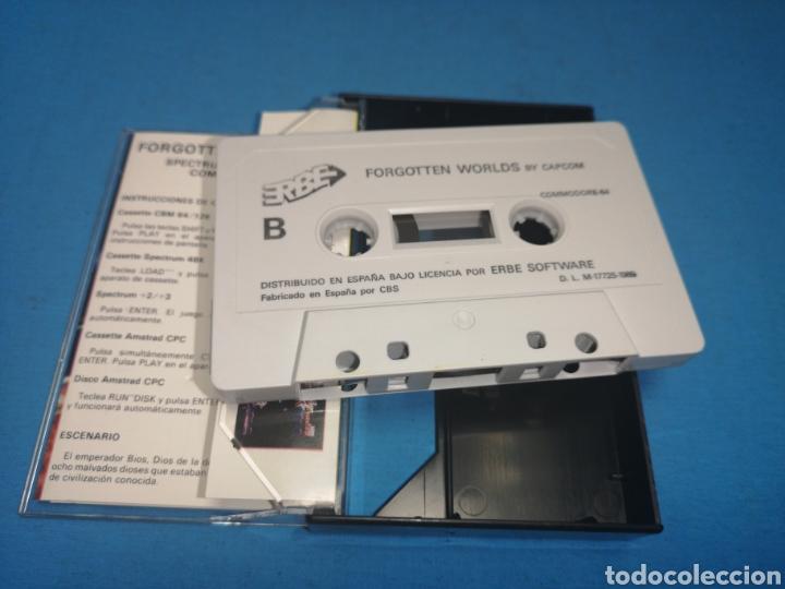 Videojuegos y Consolas: Juego Commodore 64, forgotten worlds by capcom - Foto 5 - 167808264