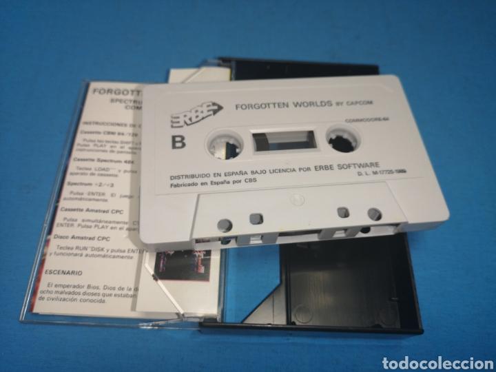 Videojuegos y Consolas: Juego Commodore 64, forgotten worlds by capcom - Foto 6 - 167808264