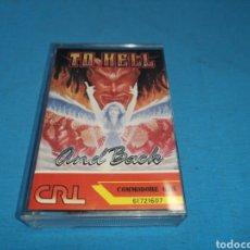 Videojuegos y Consolas: JUEGO COMMODORE 64, TO HELL AND BACK. Lote 167847844