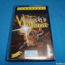 Videojuegos y Consolas: JUEGO COMMODORE 64, WARLOCK'S QUEST BY INFOGRAMES. Lote 167901818