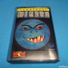 Videojuegos y Consolas: JUEGO COMMODORE 64, WICKED. Lote 167903464