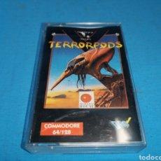Videojuegos y Consolas: JUEGO COMMODORE 64, TERRORPODS. Lote 167905345