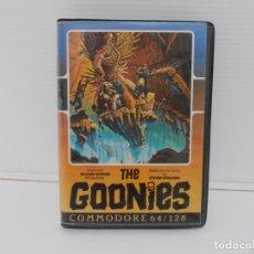 Videojuegos y Consolas - JUEGO COMMODORE 64, ESTUCHE RIGIDO, THE GOONIES, US GOLD, STEVEN SPIELBERG - 167976076