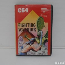 Videojuegos y Consolas: JUEGO COMMODORE 64, ESTUCHE RIGIDO, FIGHTING WARRIOR, ERBE SOFTWARE. Lote 167982112