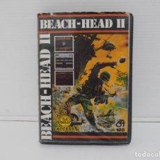 Videojuegos y Consolas: JUEGO COMMODORE 64, ESTUCHE RIGIDO, BEACH HEAD II, ERBE SOFTWARE. Lote 167982448