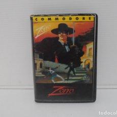 Videojuegos y Consolas - JUEGO COMMODORE 64, ESTUCHE RIGIDO, ZORRO, US GOLD - 167983816