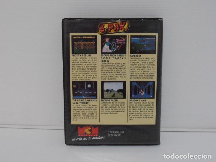 Videojuegos y Consolas: JUEGO COMMODORE 64, ESTUCHE RIGIDO, 6 PACK, VOLUMEN 3, MCM ELITE - Foto 4 - 167984744