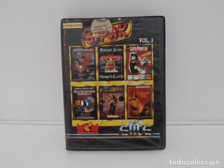 JUEGO COMMODORE 64, ESTUCHE RIGIDO, 6 PACK, VOLUMEN 3, MCM ELITE (Juguetes - Videojuegos y Consolas - Commodore)
