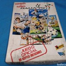 Videojuegos y Consolas: JUEGO COMMODORE 64, ITALIA 90, EN SU CAJA ORIGINAL Y CON MANUAL DE INSTRUCCIONES. Lote 167992449