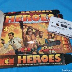 Videojuegos y Consolas: JUEGO COMMODORE 64, HEROES BARBARIAN II BY DOMARK LTD. Lote 168023538