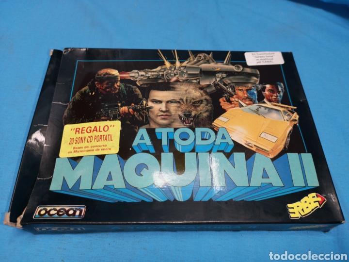 JUEGO COMMODORE 64, A TODA MÁQUINA 2, BY OCEAN, 3 CINTAS CON MANUAL (Juguetes - Videojuegos y Consolas - Commodore)