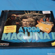 Videojuegos y Consolas: JUEGO COMMODORE 64, A TODA MÁQUINA 2, BY OCEAN, 3 CINTAS CON MANUAL. Lote 168025274