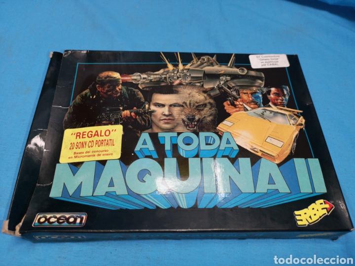 Videojuegos y Consolas: Juego Commodore 64, a toda máquina 2, by ocean, 3 cintas con manual - Foto 2 - 168025274