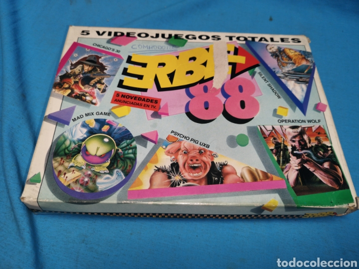 JUEGO COMMODORE 64, ERBE 88, 3 CINTAS Y MANUAL (Juguetes - Videojuegos y Consolas - Commodore)