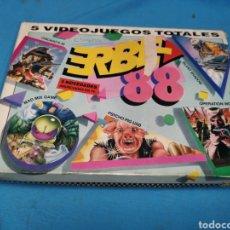 Videojuegos y Consolas: JUEGO COMMODORE 64, ERBE 88, 3 CINTAS Y MANUAL. Lote 168026442