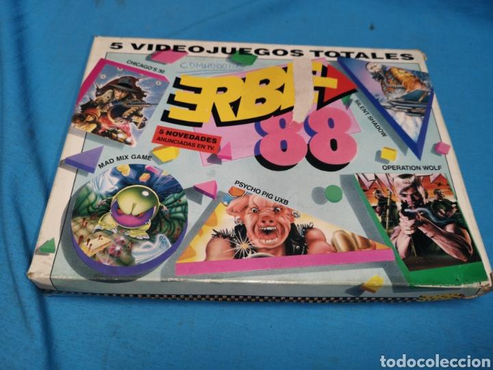 Videojuegos y Consolas: Juego Commodore 64, erbe 88, 3 cintas y manual - Foto 2 - 168026442