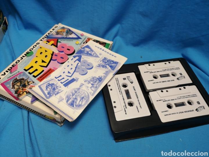 Videojuegos y Consolas: Juego Commodore 64, erbe 88, 3 cintas y manual - Foto 3 - 168026442
