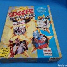 Videojuegos y Consolas: JUEGO COMMODORE 64, SOCCER STARS, CON MANUAL. Lote 168027158
