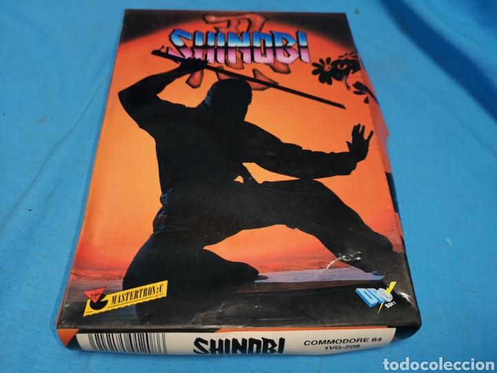 Videojuegos y Consolas: Juego Commodore 64, Shinobi - Foto 2 - 168028446
