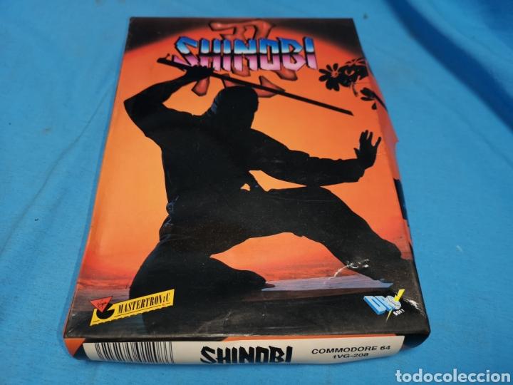 JUEGO COMMODORE 64, SHINOBI (Juguetes - Videojuegos y Consolas - Commodore)