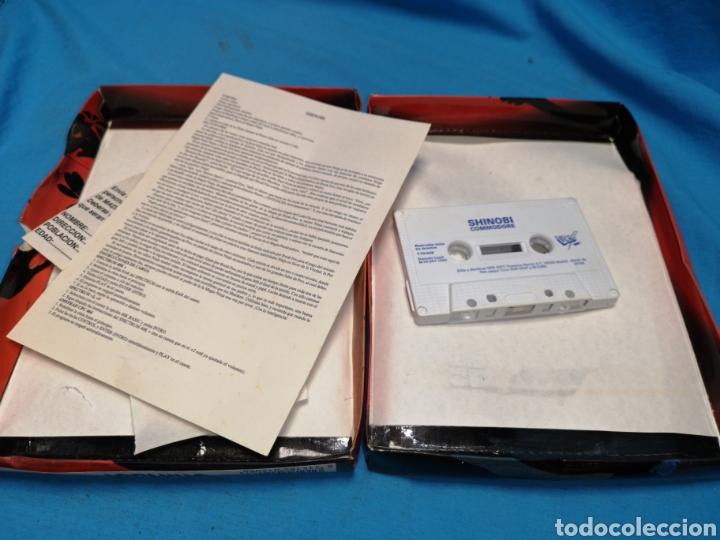 Videojuegos y Consolas: Juego Commodore 64, Shinobi - Foto 3 - 168028446