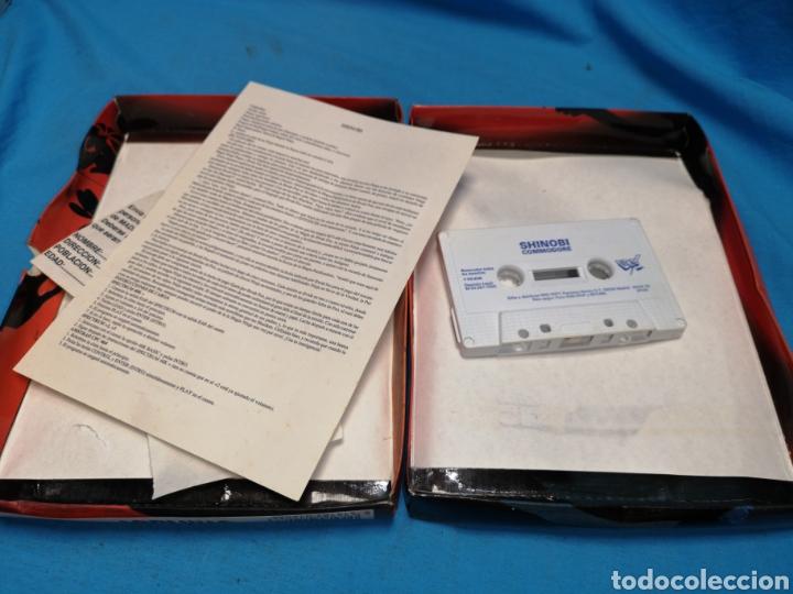 Videojuegos y Consolas: Juego Commodore 64, Shinobi - Foto 4 - 168028446
