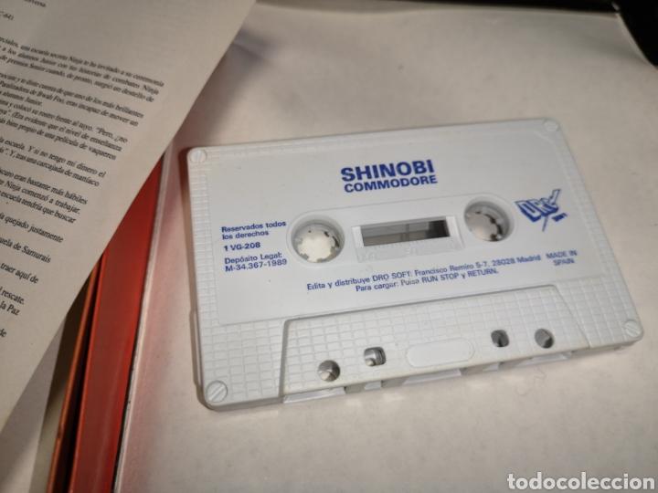 Videojuegos y Consolas: Juego Commodore 64, Shinobi - Foto 5 - 168028446