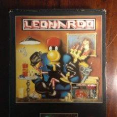 Videojuegos y Consolas: LEONARDO JUEGO + INSTRUCCIONES COMMODORE 64 - 1989 STARBYTE SOFTWARE - VER FOTOS. Lote 169179076