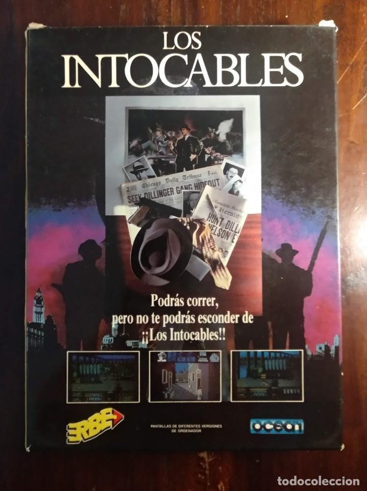 Videojuegos y Consolas: LOS INTOCABLES JUEGO + INSTRUCCIONES COMMODORE 64 - 1989 ERBE OCEAN SOFTWARE - VER FOTOS - Foto 3 - 169179208