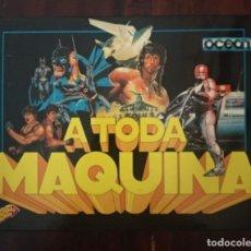 Videojuegos y Consolas: A TODA MAQUINA 5 JUEGOS+INSTRUCCIONES COMMODORE 64-DRAGONNINJA-ROBOCOP-AFTER BURNER...VER FOTOS. Lote 169179484