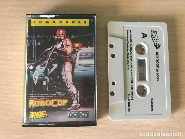 JUEGO ROBOCOP - COMMODORE 64 VIDEOJUEGO CASSETTE C64 ROBOT (Juguetes - Videojuegos y Consolas - Commodore)