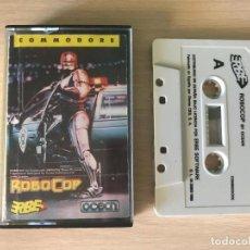 Videojuegos y Consolas: JUEGO ROBOCOP - COMMODORE 64 VIDEOJUEGO CASSETTE C64 ROBOT. Lote 169230328