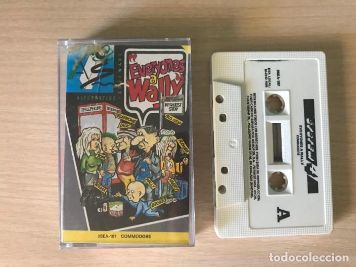 JUEGO EVERYONES A WALLY - COMMODORE 64 VIDEOJUEGO CASSETTE C64 (Juguetes - Videojuegos y Consolas - Commodore)