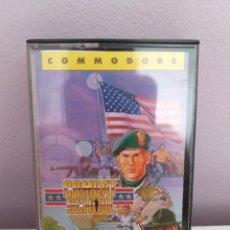 Videojuegos y Consolas: ANTIGUO VIDEOJUEGO COMBAT SCHOOL COMMODORE KONAMI OCEAN. Lote 176768830