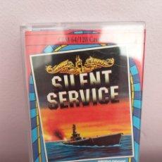 Videojuegos y Consolas: ANTIGUO VIDEOJUEGO SILENT SERVICE KIXX. Lote 176773257
