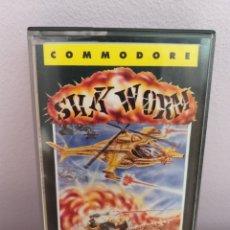 Videojuegos y Consolas: ANTIGUO VIEDOJUEGO SILK WORM COMMODORE RBE. Lote 176774337