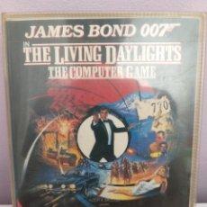 Videojuegos y Consolas: ANTIGUO VIDEOJUEGO JAMES BOND 007 THE LIVING DAYLIGHTS. Lote 176781917