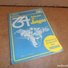 Videojuegos y Consolas: COMMODORE 64. SELECCION DE JUEGOS. COLECCION MB . Lote 179191320
