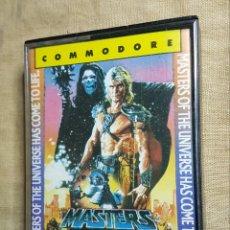 Videojuegos y Consolas: VIDEOJUEGO CINTA COMMODORE MASTER DEL UNIVERSO. Lote 181083423