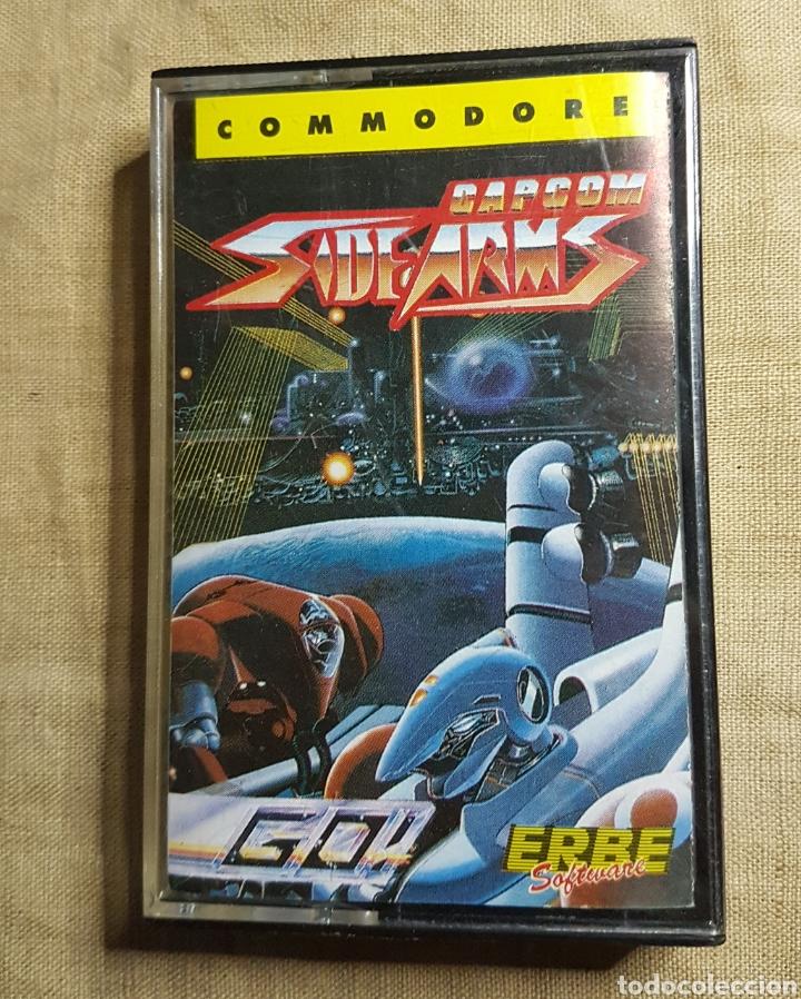 VIDEOJUEGO CINTA COMMODORE SIDE ARMS (Juguetes - Videojuegos y Consolas - Commodore)