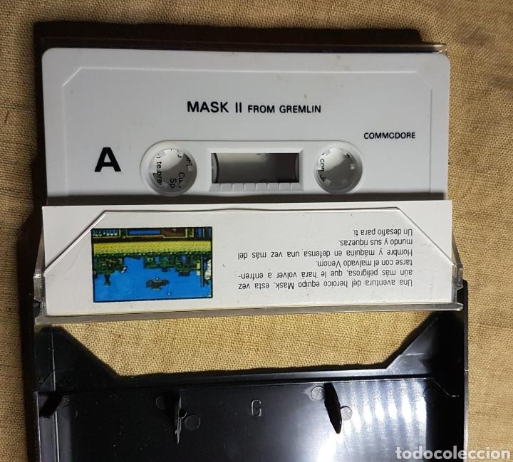 Videojuegos y Consolas: Videojuego cinta commodore mask 2 - Foto 3 - 181083783