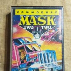 Videojuegos y Consolas: VIDEOJUEGO CINTA COMMODORE MASK 2. Lote 181083783