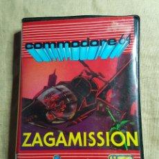Videojuegos y Consolas: VIDEOJUEGO CINTA COMMODORE ZAGAMISSION. Lote 181084175