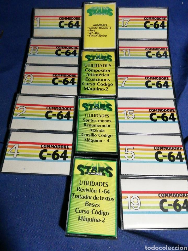 LOTE DE CASSETTES PARA COMMODORE (Juguetes - Videojuegos y Consolas - Commodore)